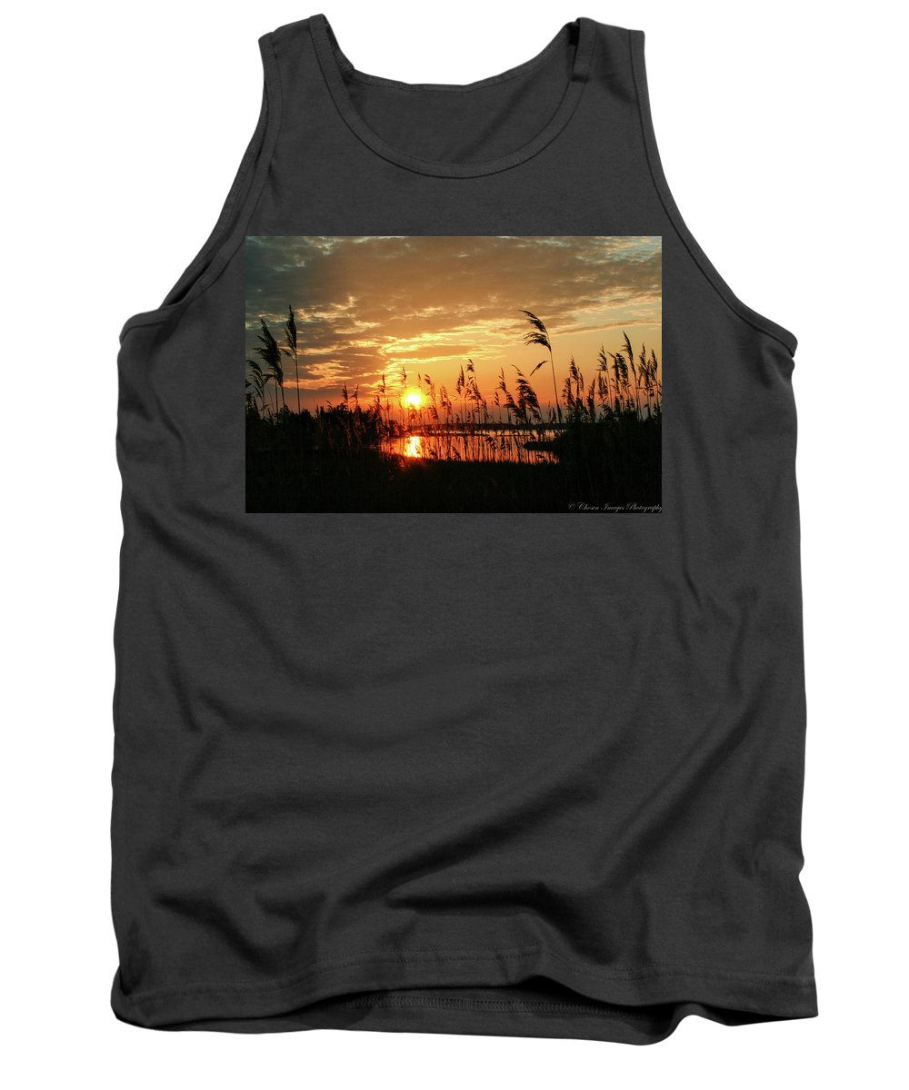 Sunset Tank Top featuring the photograph Sun Kissed by Haviland Photography