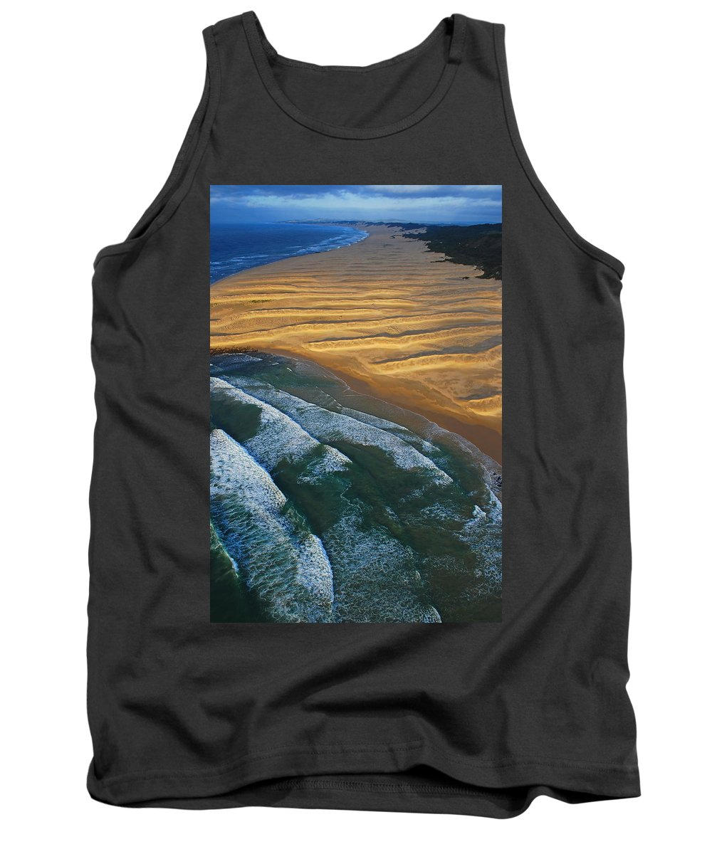 Coast Tank Top featuring the photograph Sun Rise Coast by Skip Hunt