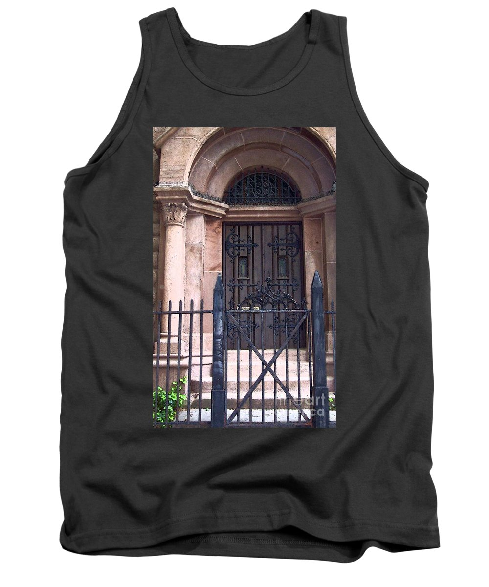 Church Tank Top featuring the photograph Sunday by Debbi Granruth