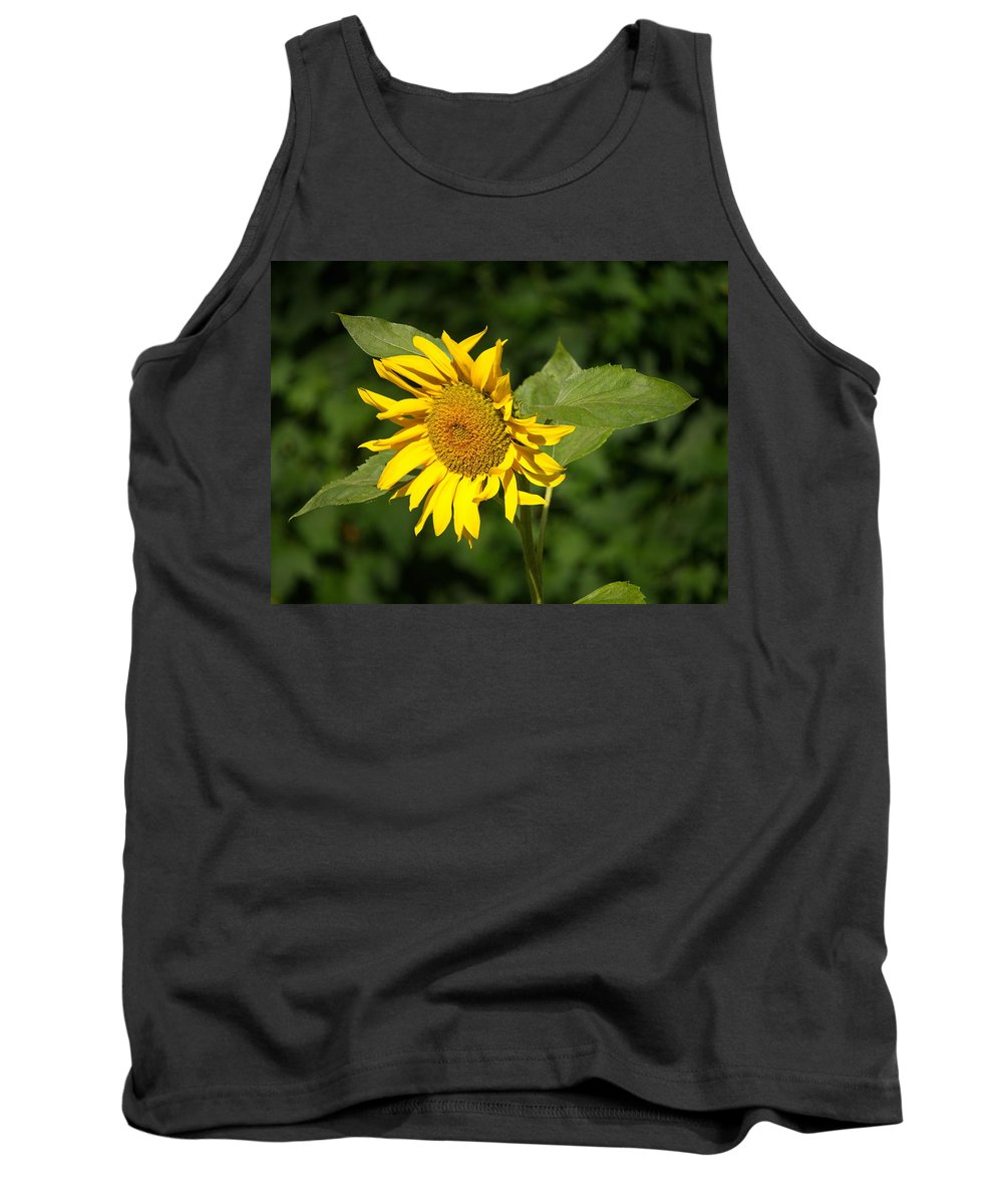 Sunflower Tank Top featuring the photograph Sunflower by Alexander Borovikov