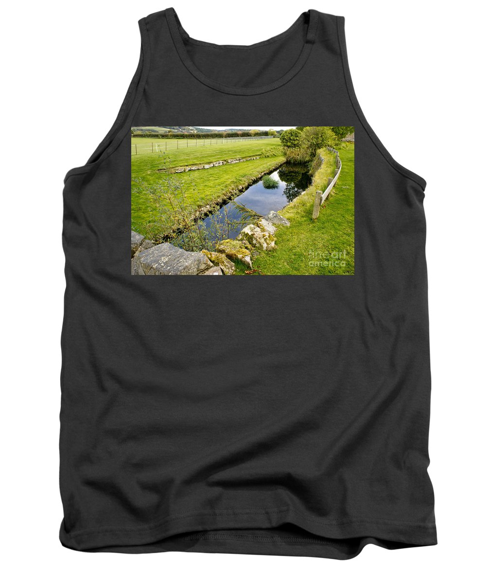 Water Duct Tank Top featuring the photograph Sunken Sky by Elena Perelman