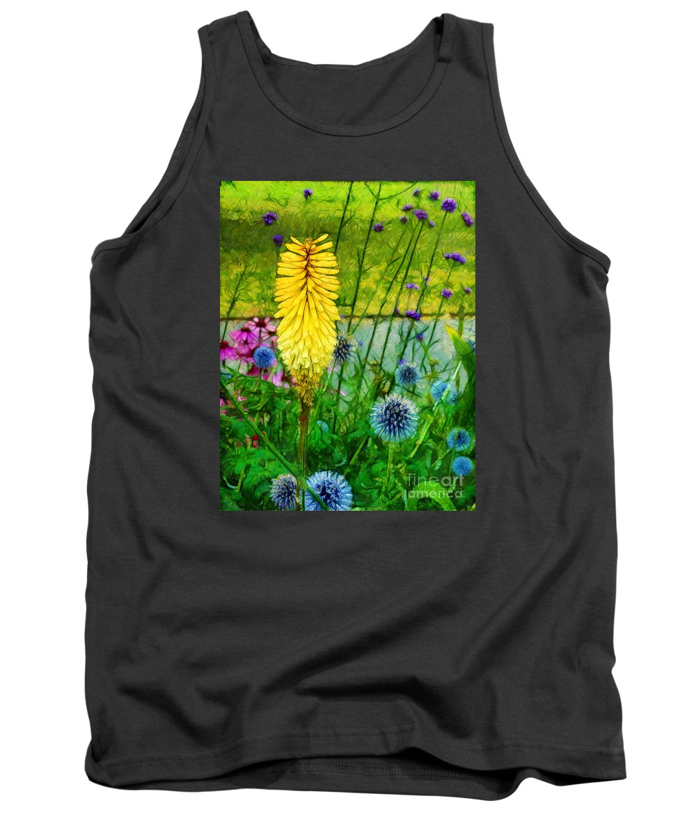 Kew Gardens Tank Top featuring the photograph Sunlight At Kew Gardens by Judi Bagwell