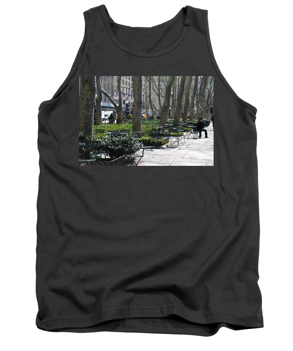 Parks Tank Top featuring the photograph Sunny Morning In The Park by Rob Hans