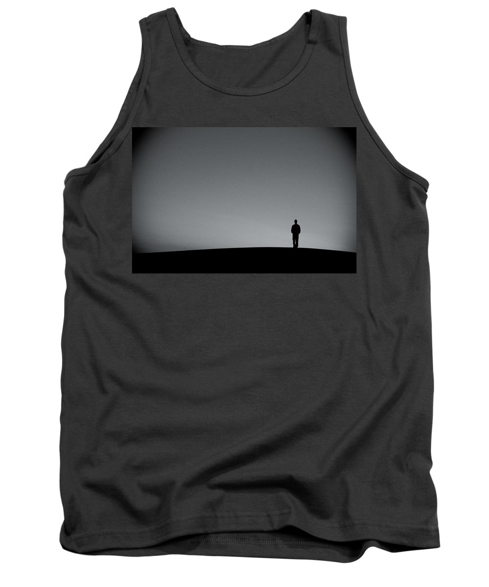 Silhouette Tank Top featuring the photograph Sunrise Silhouette by Scott Sawyer