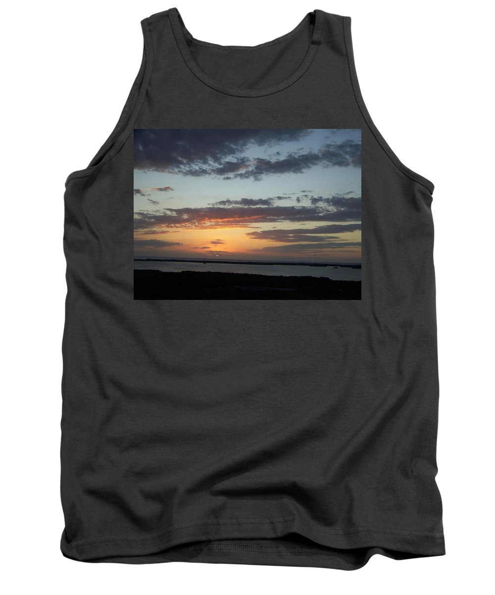 Sunset Tank Top featuring the photograph Sunset 0008 by Laurie Paci