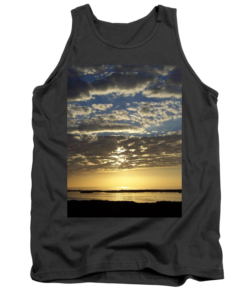 Sunset Tank Top featuring the photograph Sunset 0011 by Laurie Paci