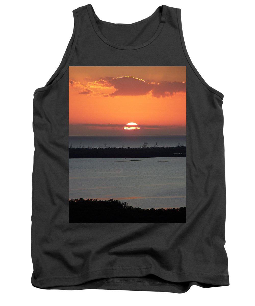 Sunset Tank Top featuring the photograph Sunset 0015 by Laurie Paci