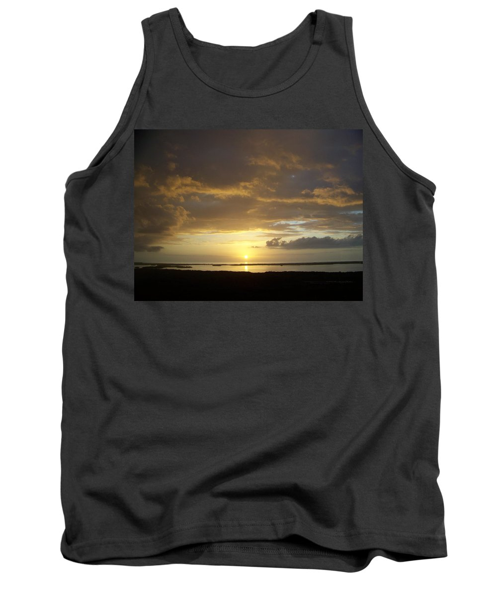 Sunset Tank Top featuring the photograph Sunset 0018 by Laurie Paci