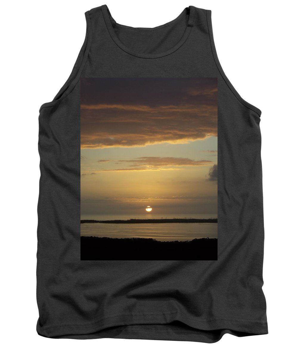 Sunset Tank Top featuring the photograph Sunset 0021 by Laurie Paci