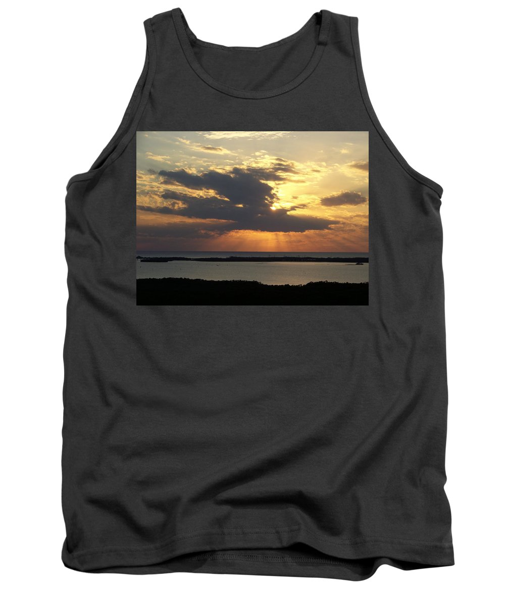 Sunset Tank Top featuring the photograph Sunset 0036 by Laurie Paci