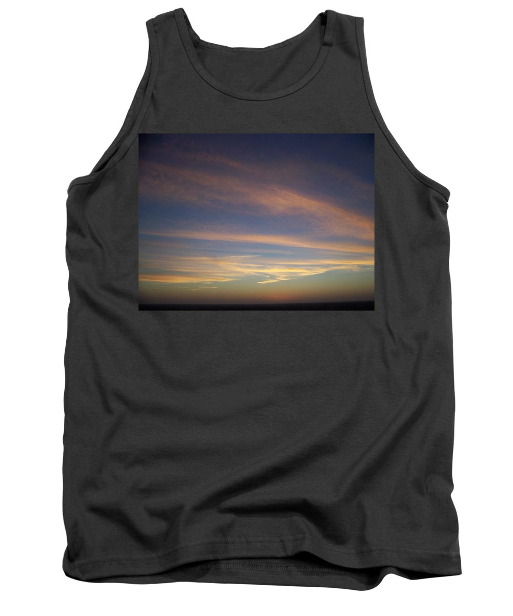 Sunset Tank Top featuring the photograph Sunset 0039 by Laurie Paci