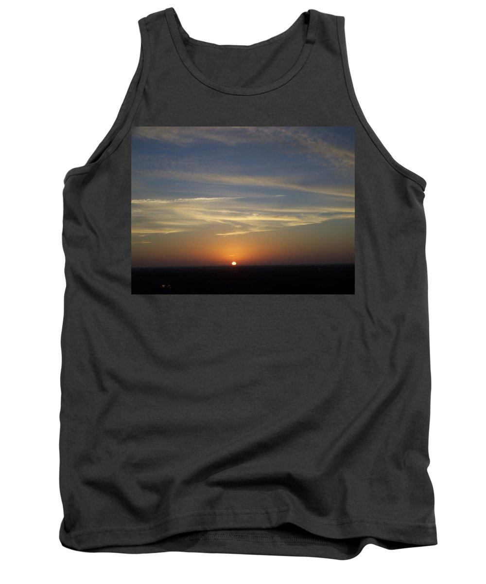 Sunset Tank Top featuring the photograph Sunset 0040 by Laurie Paci