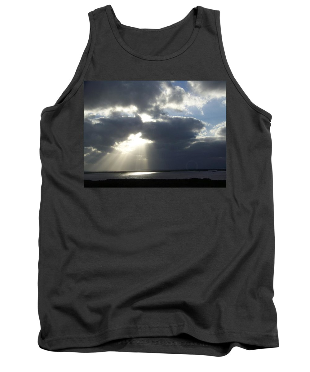 Sunset Tank Top featuring the photograph Sunset 0041 by Laurie Paci