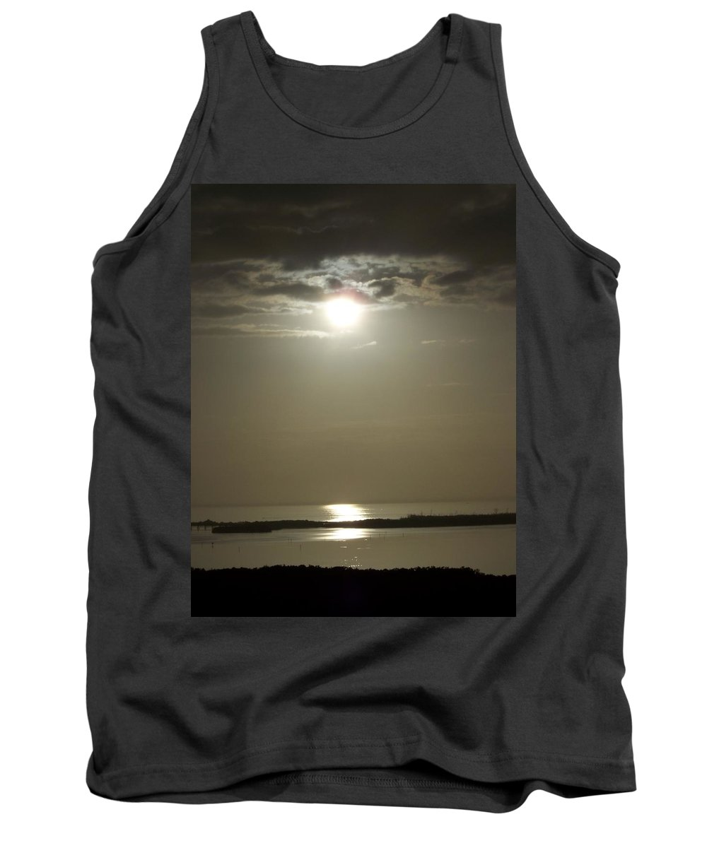 Sunset Tank Top featuring the photograph Sunset 0068 by Laurie Paci