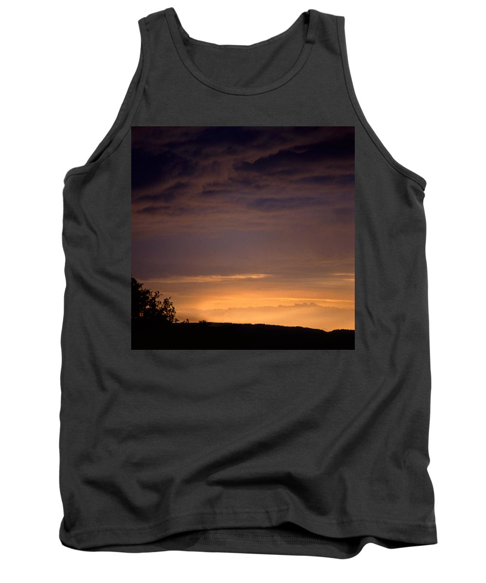 Landscape Tank Top featuring the photograph Sunset 3 by Lee Santa