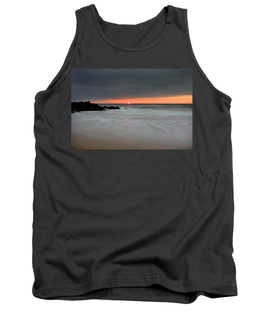 Belmar Tank Top featuring the photograph Sunset Before The Storm by Jeff Bord