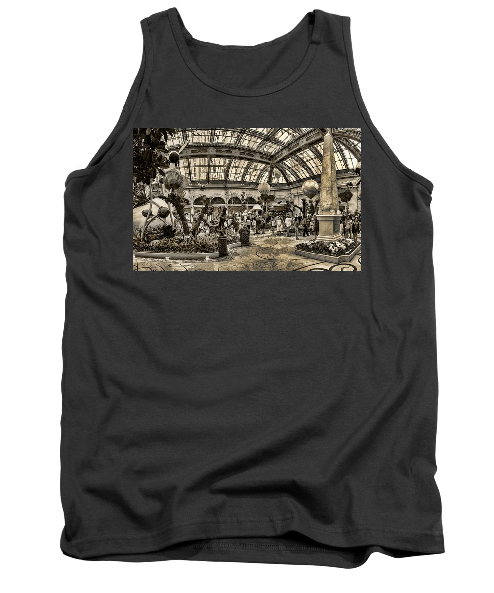 Floral Tank Top featuring the photograph Surreal Gardens by Ricky Barnard
