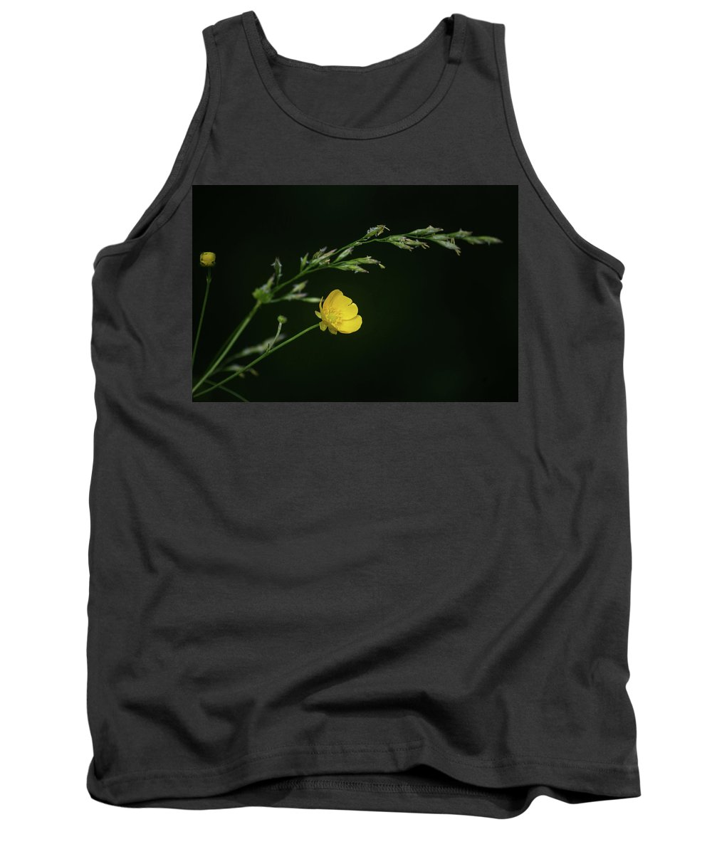Buttercup Tank Top featuring the photograph Sweet Little Buttercup by Tim Beebe