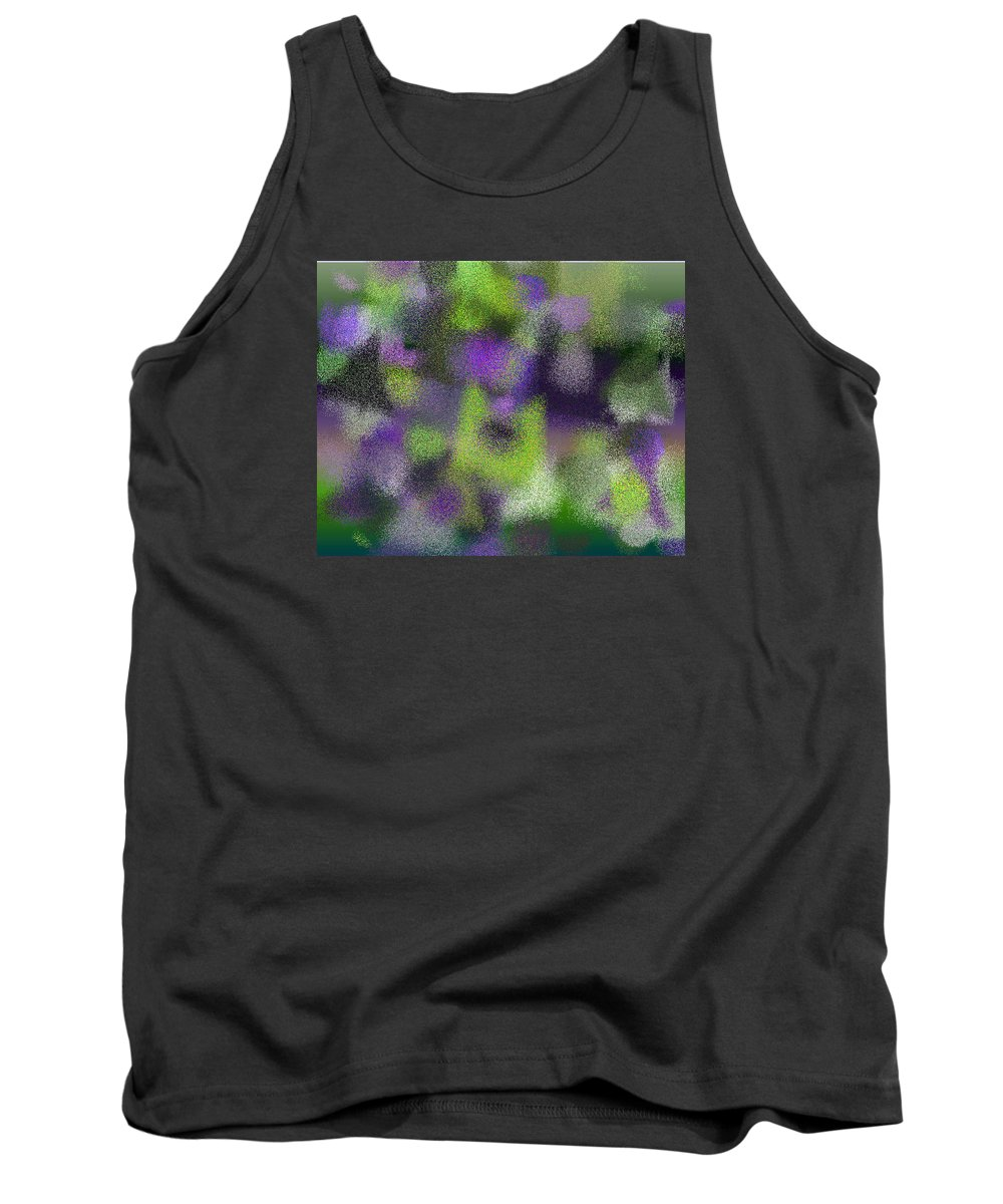 Abstract Tank Top featuring the digital art T.1.525.33.5x4.5120x4096 by Gareth Lewis