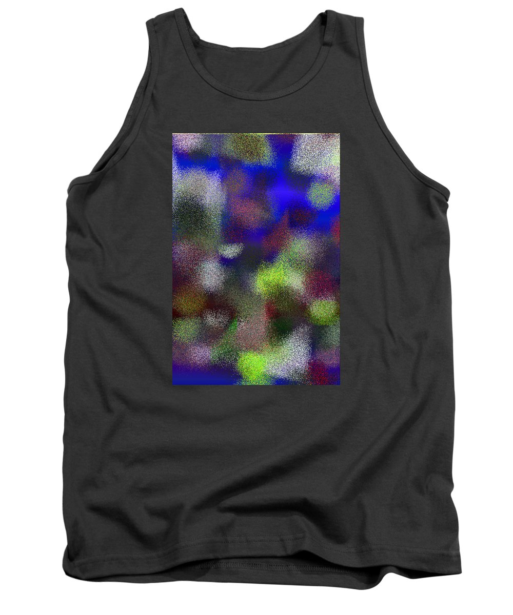 Abstract Tank Top featuring the digital art T.1.902.57.2x3.3413x5120 by Gareth Lewis