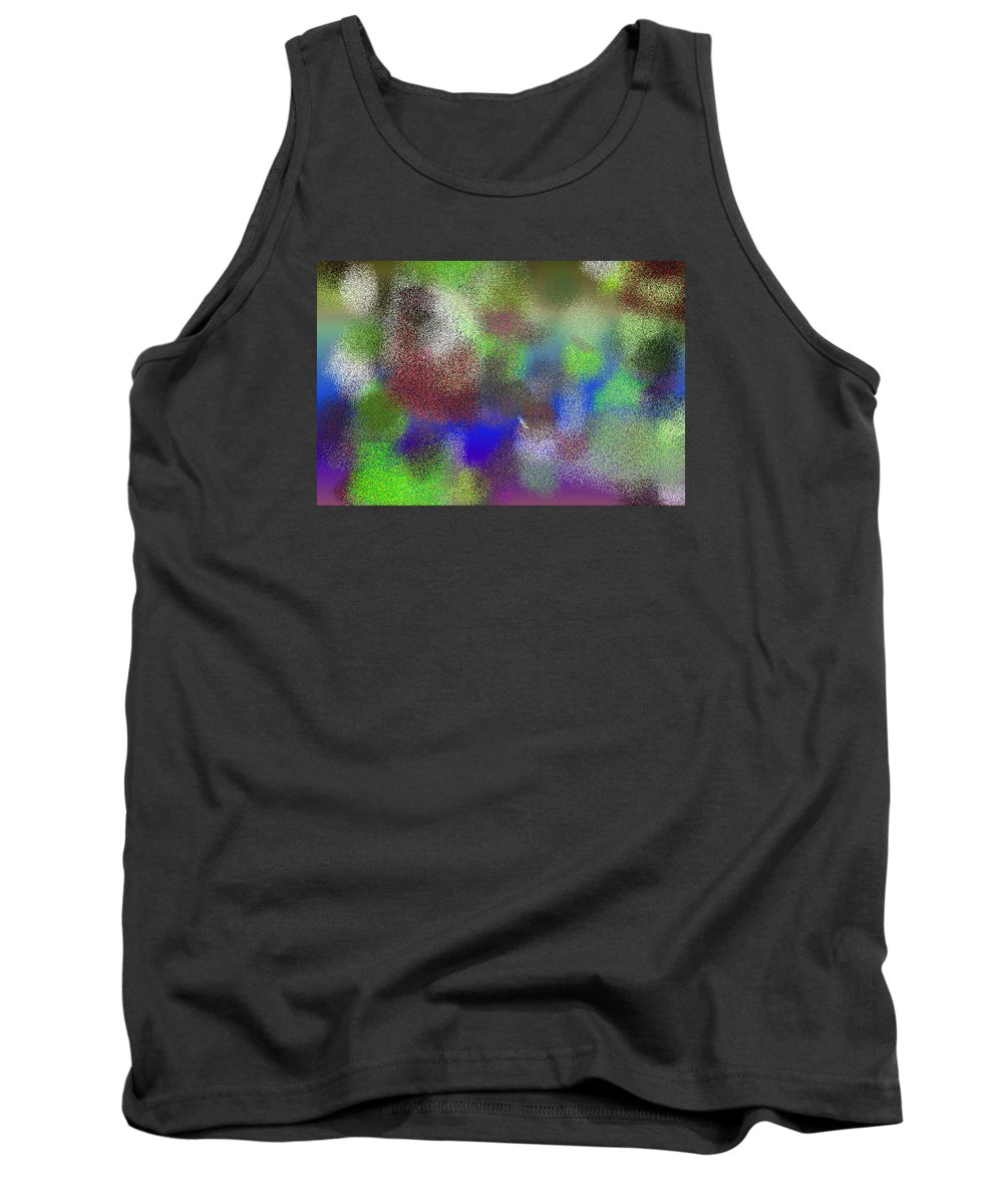 Abstract Tank Top featuring the digital art T.1.903.57.3x2.5120x3413 by Gareth Lewis