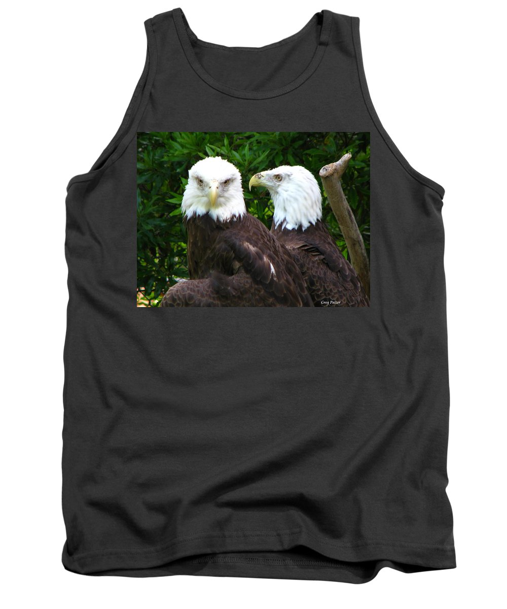 Tank Top featuring the photograph Talking To Me by Greg Patzer