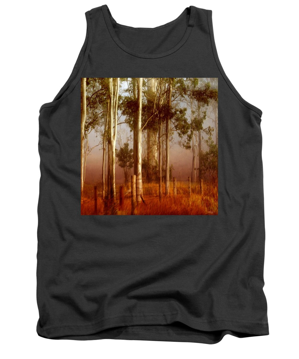 Landscape Tank Top featuring the photograph Tall Timbers by Holly Kempe