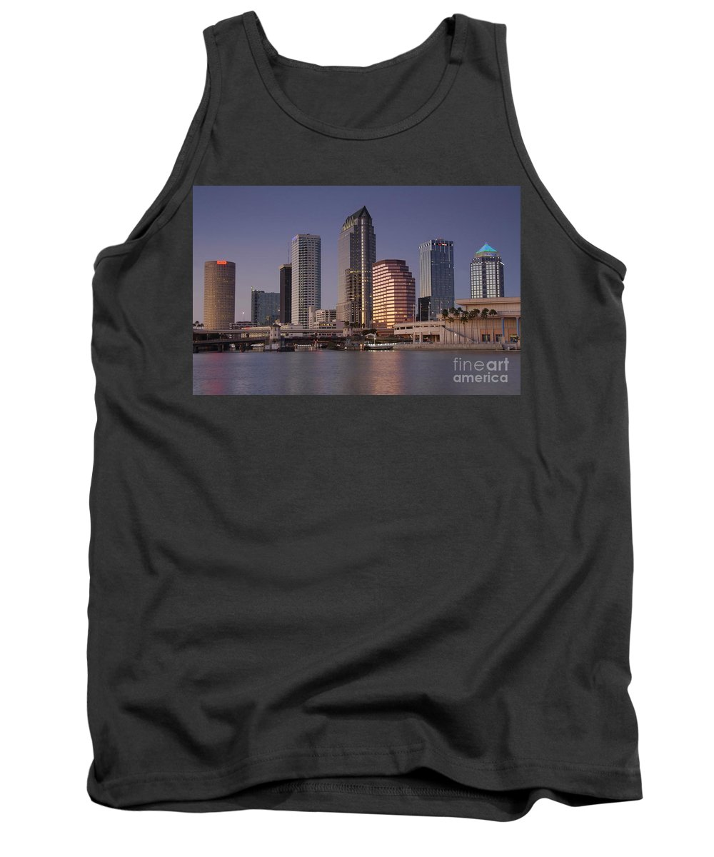Tampa Florida Tank Top featuring the photograph Tampa Florida by David Lee Thompson