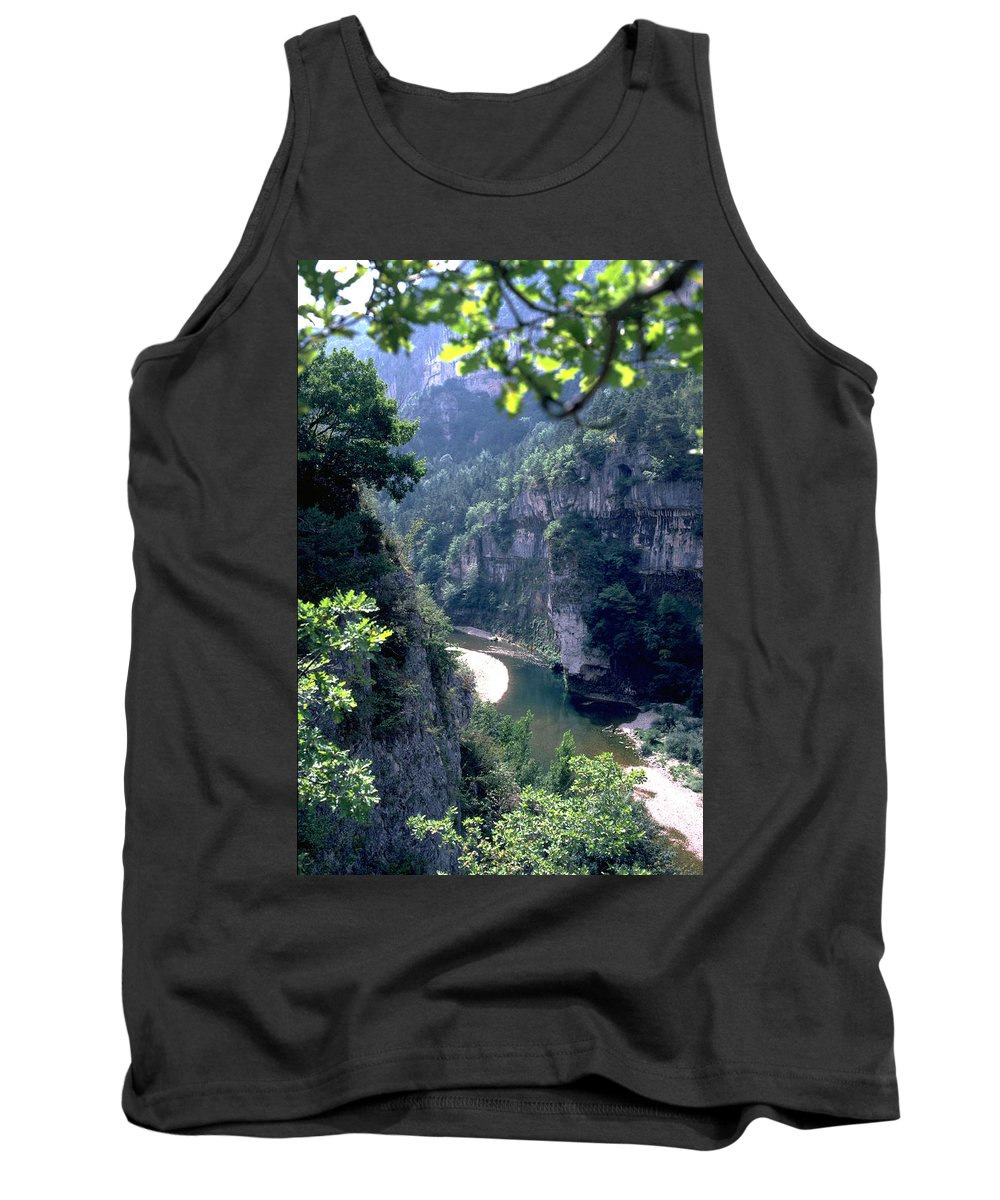 France Tank Top featuring the photograph Tarn by Flavia Westerwelle