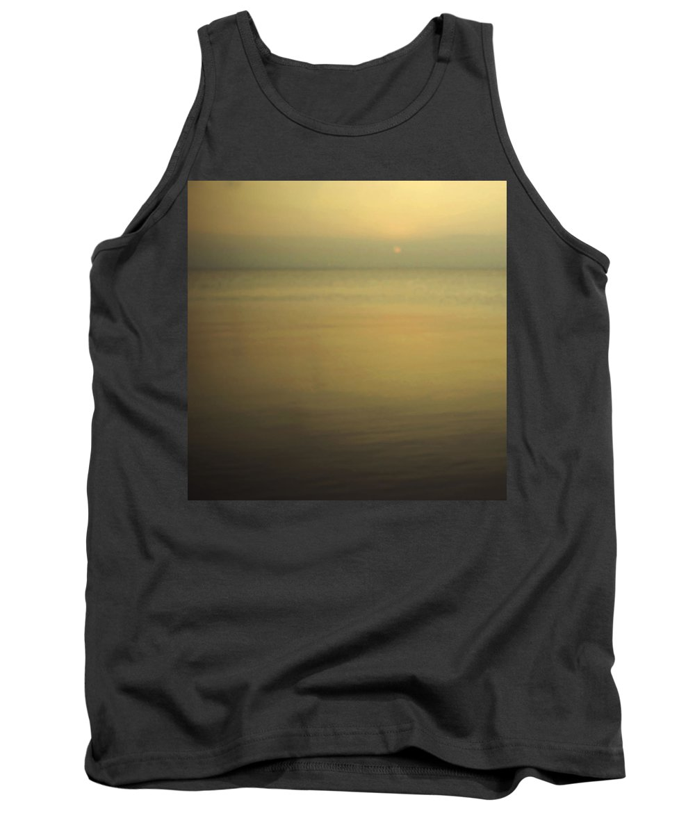 Blur Tank Top featuring the photograph Tell Me If You Know All This by Dana DiPasquale