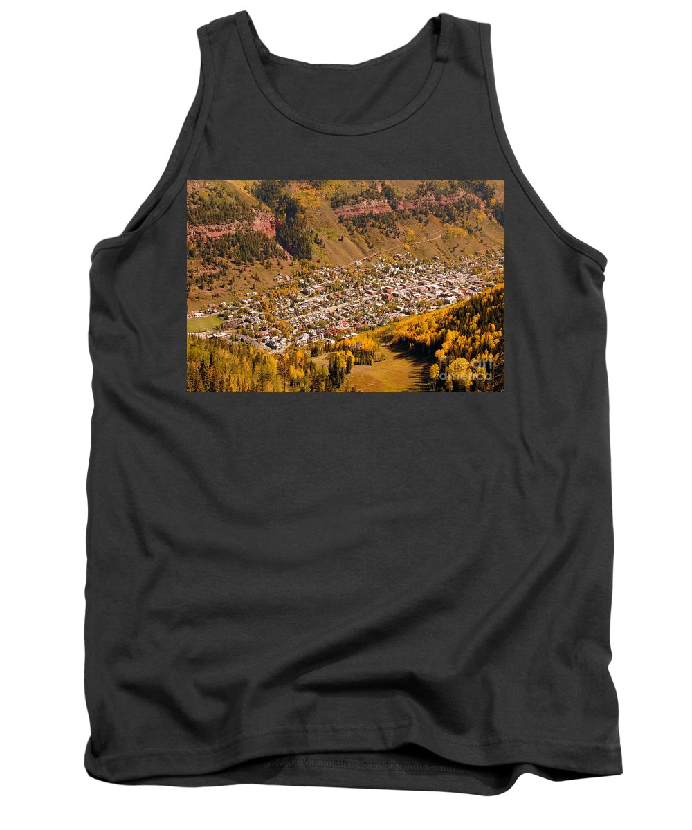 Telluride Colorado Tank Top featuring the photograph Telluride by David Lee Thompson