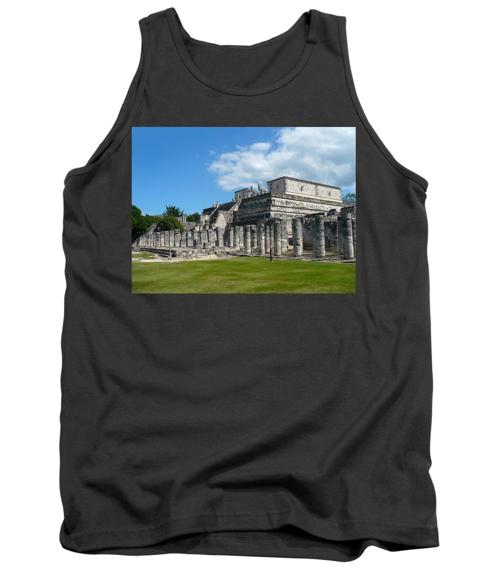 Temple Of The Warriors Tank Top featuring the photograph Temple Of The Warriors by Ellen Henneke