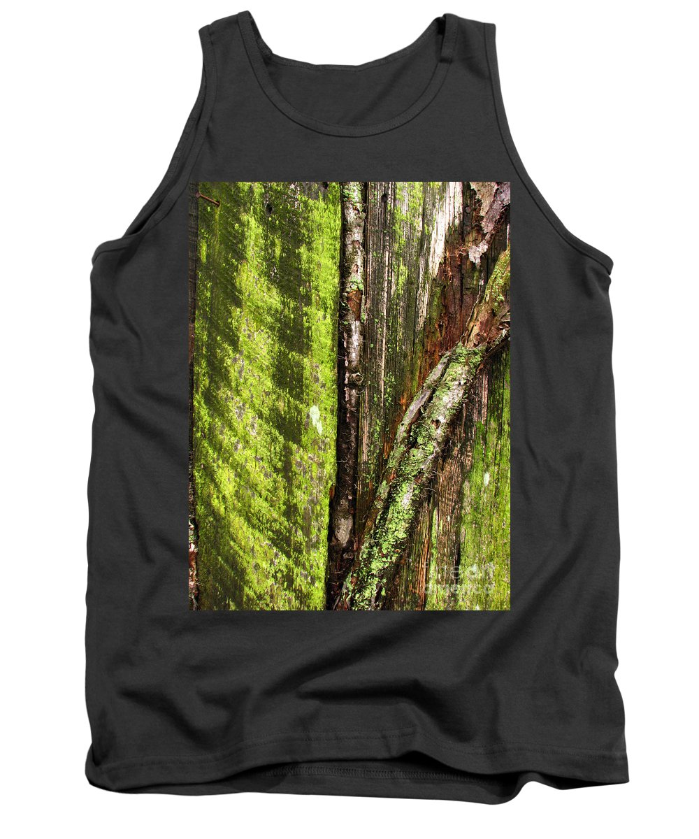 Texture Tank Top featuring the photograph Texture Series by Amanda Barcon