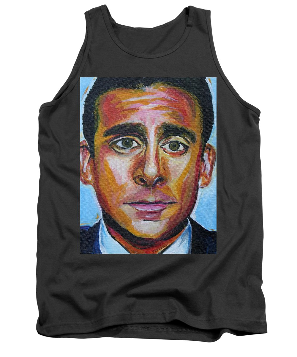 That's What She Said Tank Top featuring the painting That's What She Said by Kate Fortin