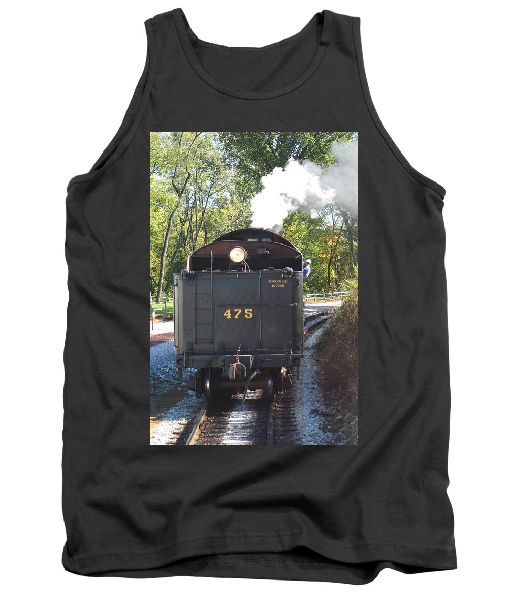475 Train Tank Top featuring the photograph The 475 by Living Color Photography Lorraine Lynch