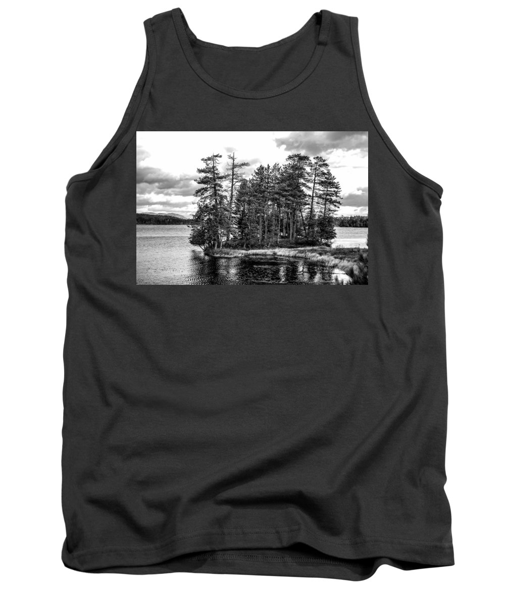 Adirondack Mountains Tank Top featuring the photograph The Adirondack by George Fredericks