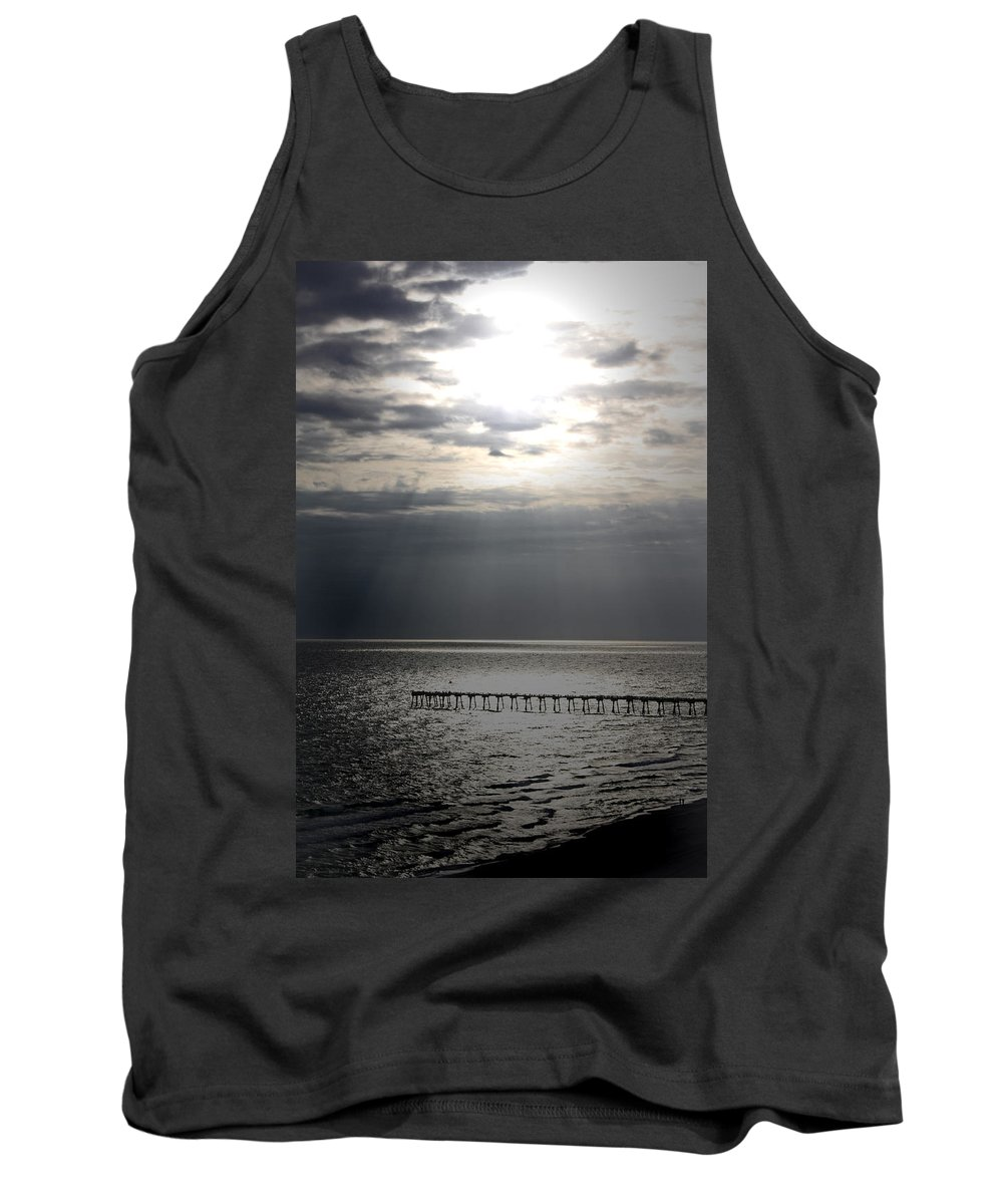 Beach Tank Top featuring the photograph The Angel Speaks by Tamivision