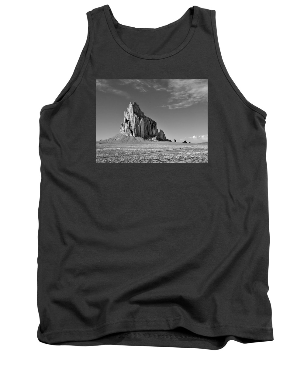 American West And Southwest Tank Top featuring the photograph The Beauty Of Shiprock by Alan Toepfer