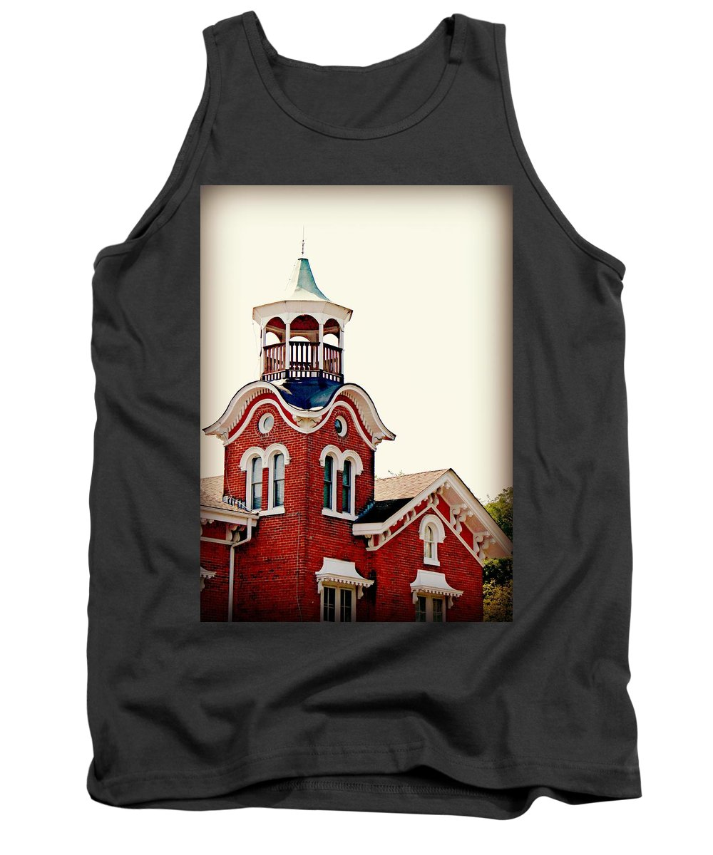 Belvedere Tank Top featuring the photograph The Belvedere by Mary Pille