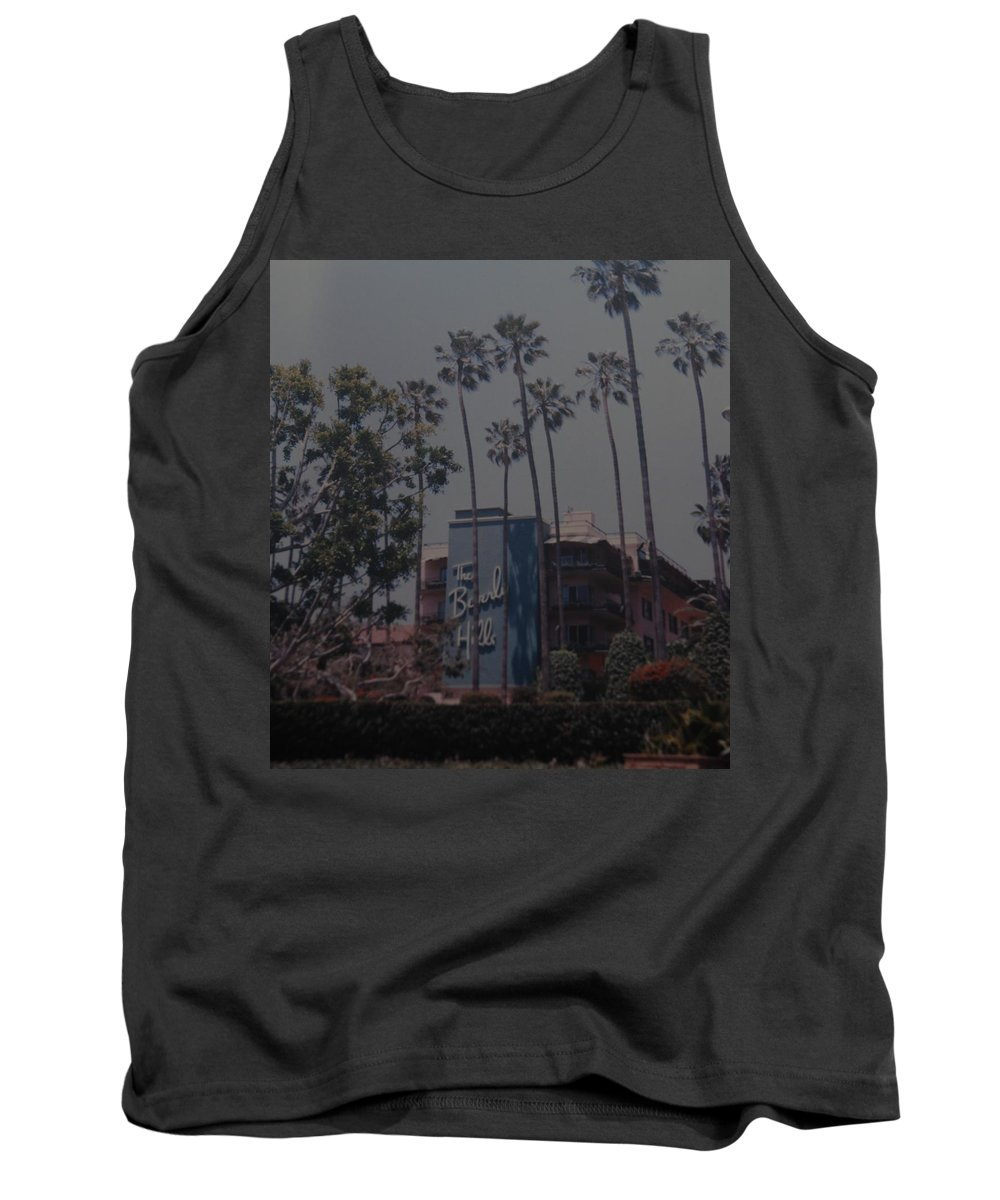 Beverly Hills Tank Top featuring the photograph The Beverly Hills Hotel by Rob Hans