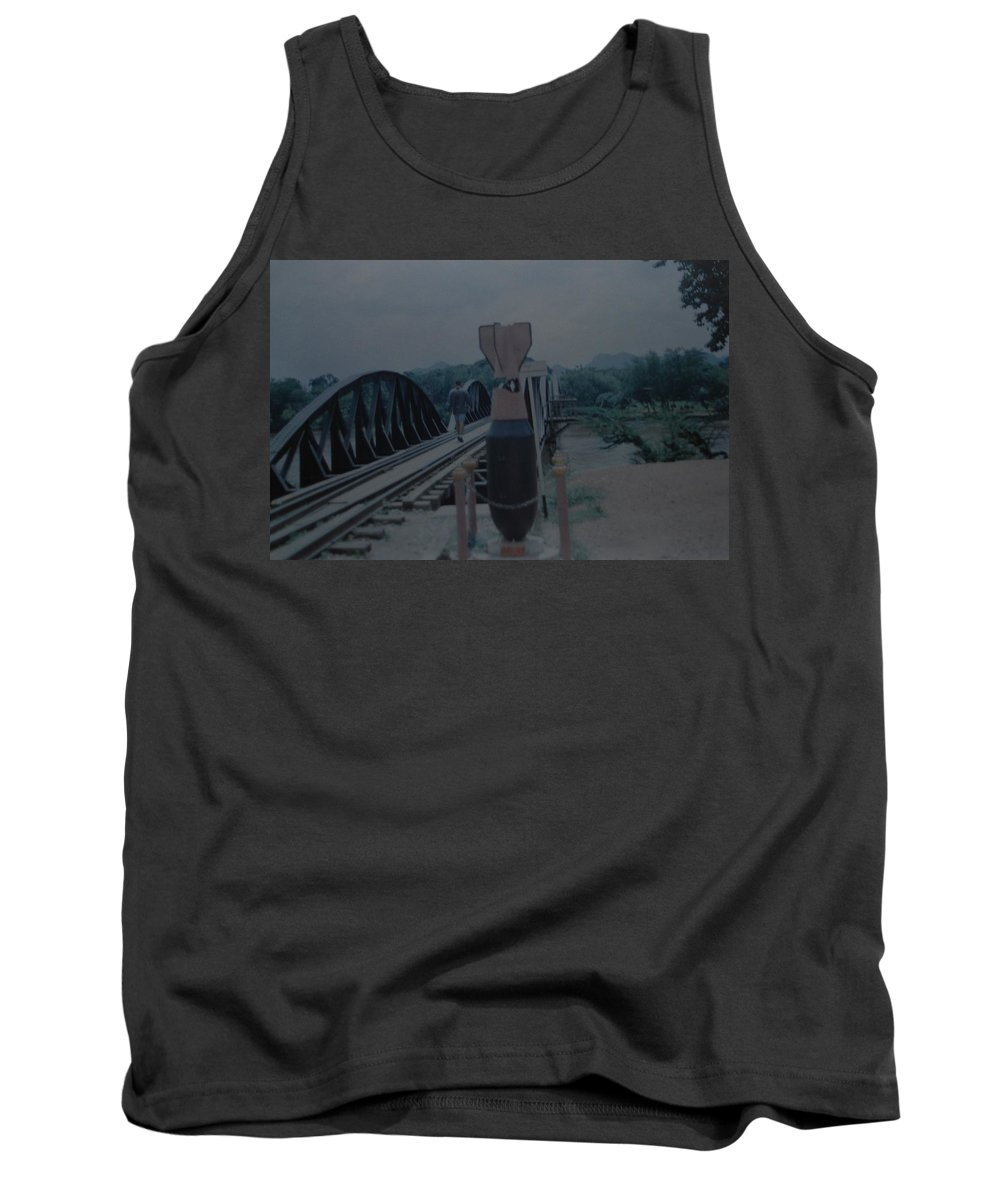 Bridge Tank Top featuring the photograph The Bridge On The River Kwai by Rob Hans