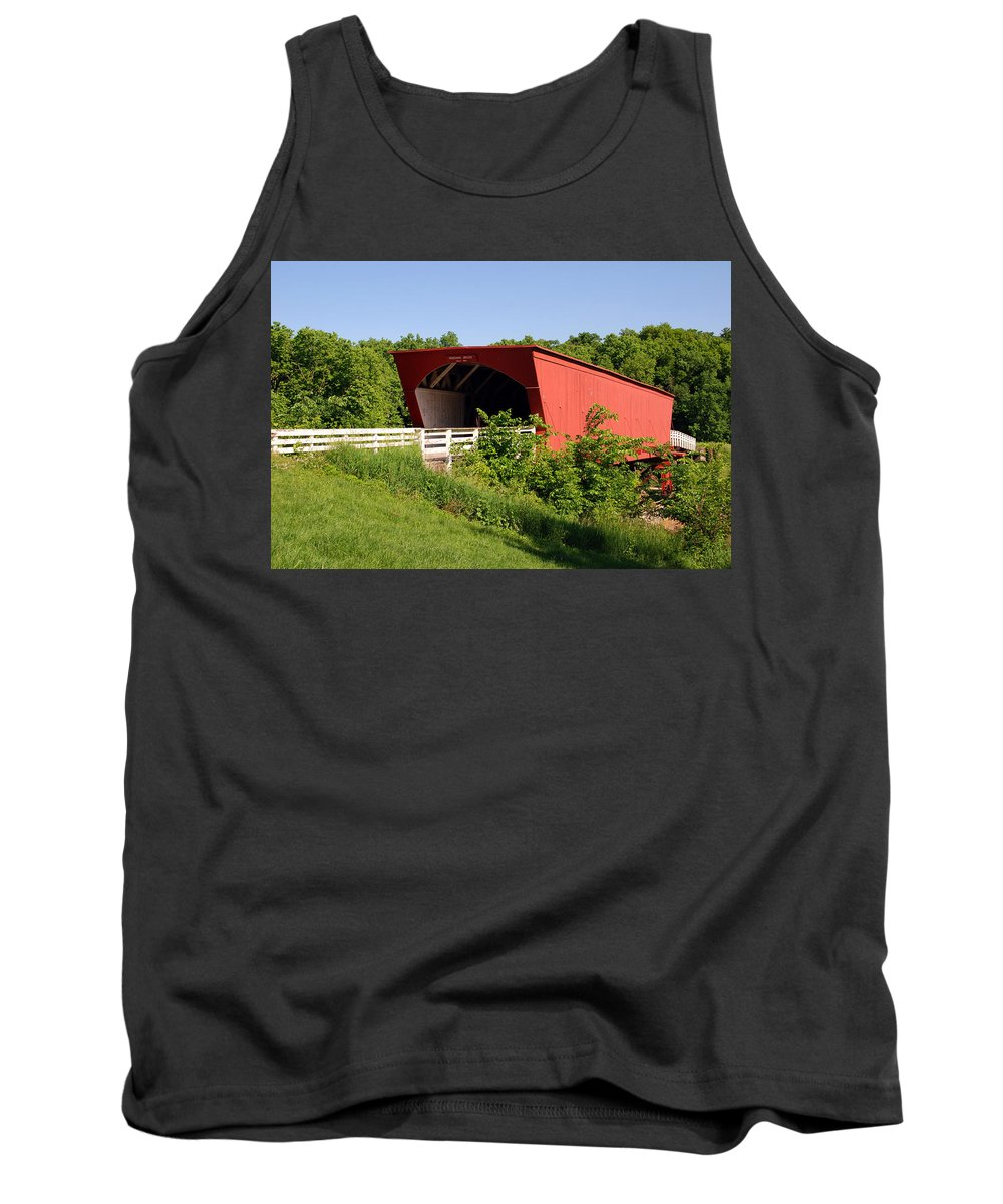 Photography Tank Top featuring the photograph The Bridges Of Madison County by Susanne Van Hulst