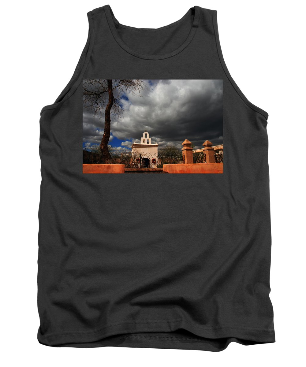 Photography Tank Top featuring the photograph The Chapel by Susanne Van Hulst