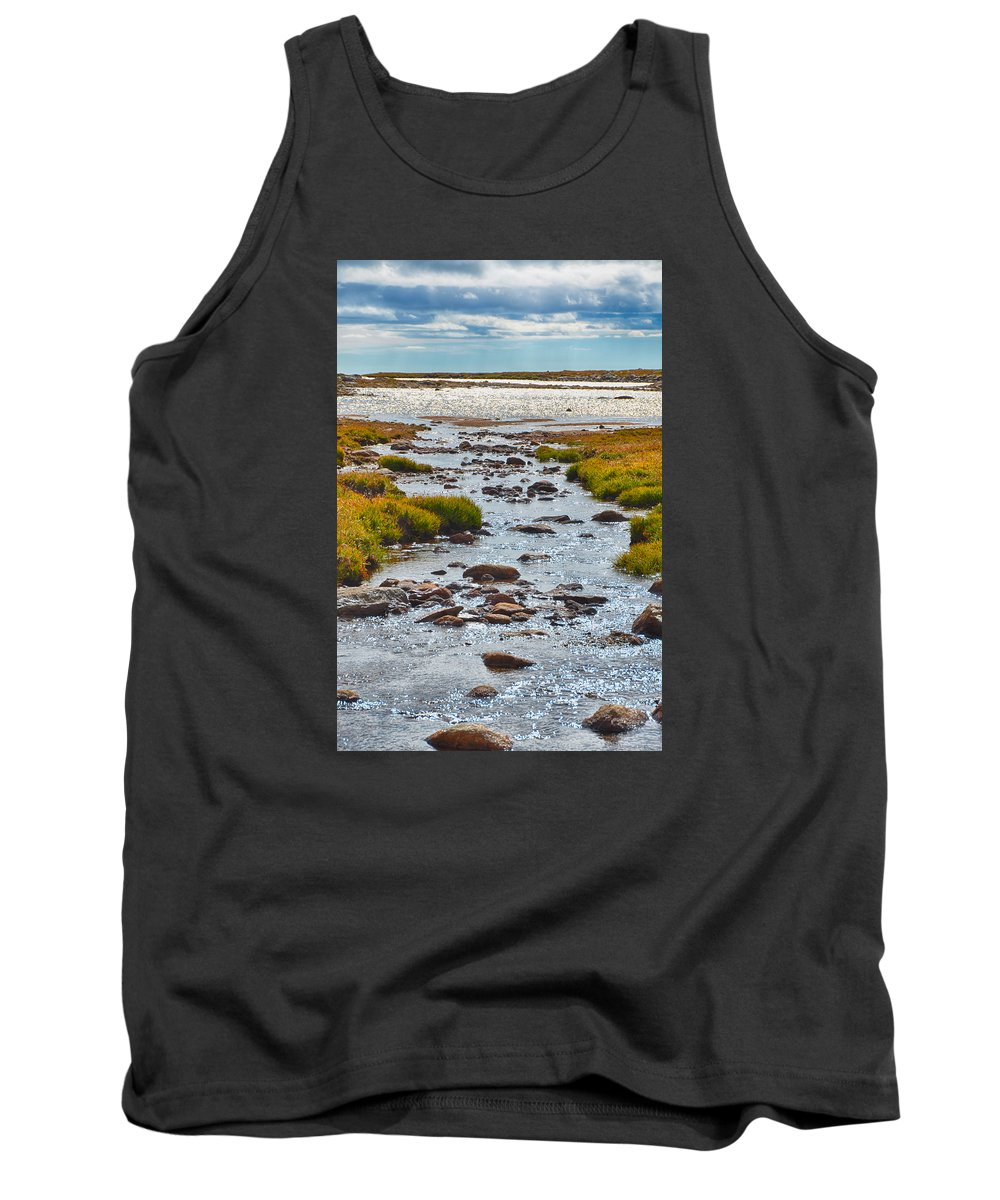 Colorado Tank Top featuring the photograph The Colorado Tundra by Angelina Vick