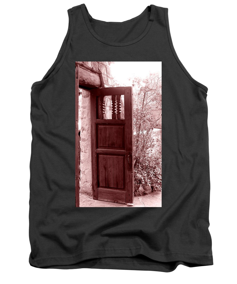 Door Tank Top featuring the photograph The Door by Wayne Potrafka