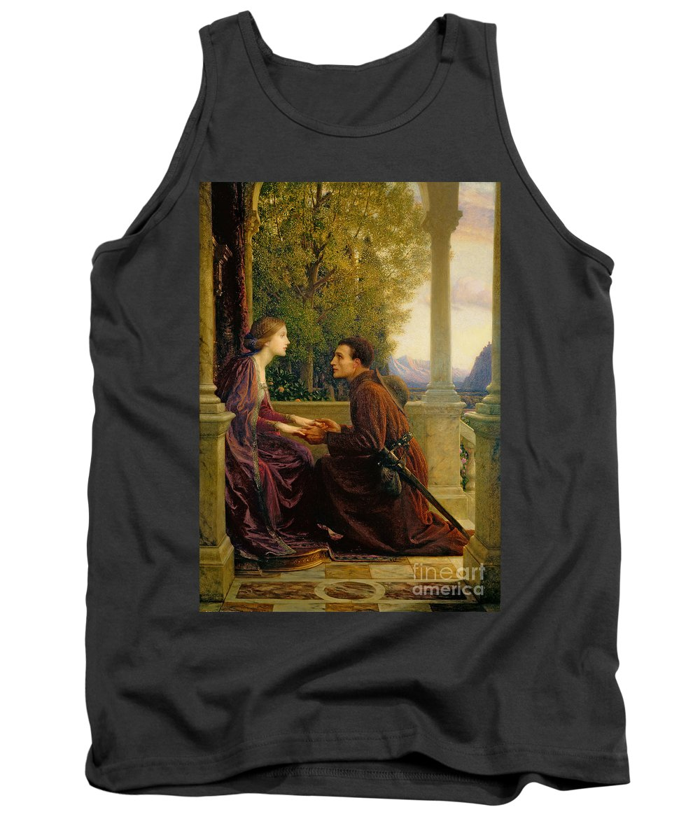 The Tank Top featuring the painting The End Of The Quest by Sir Frank Dicksee