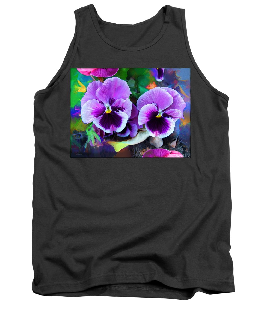 The Flowers Of Eleanor Tank Top featuring the photograph The Flowers Of Eleanor by Daniel Arrhakis
