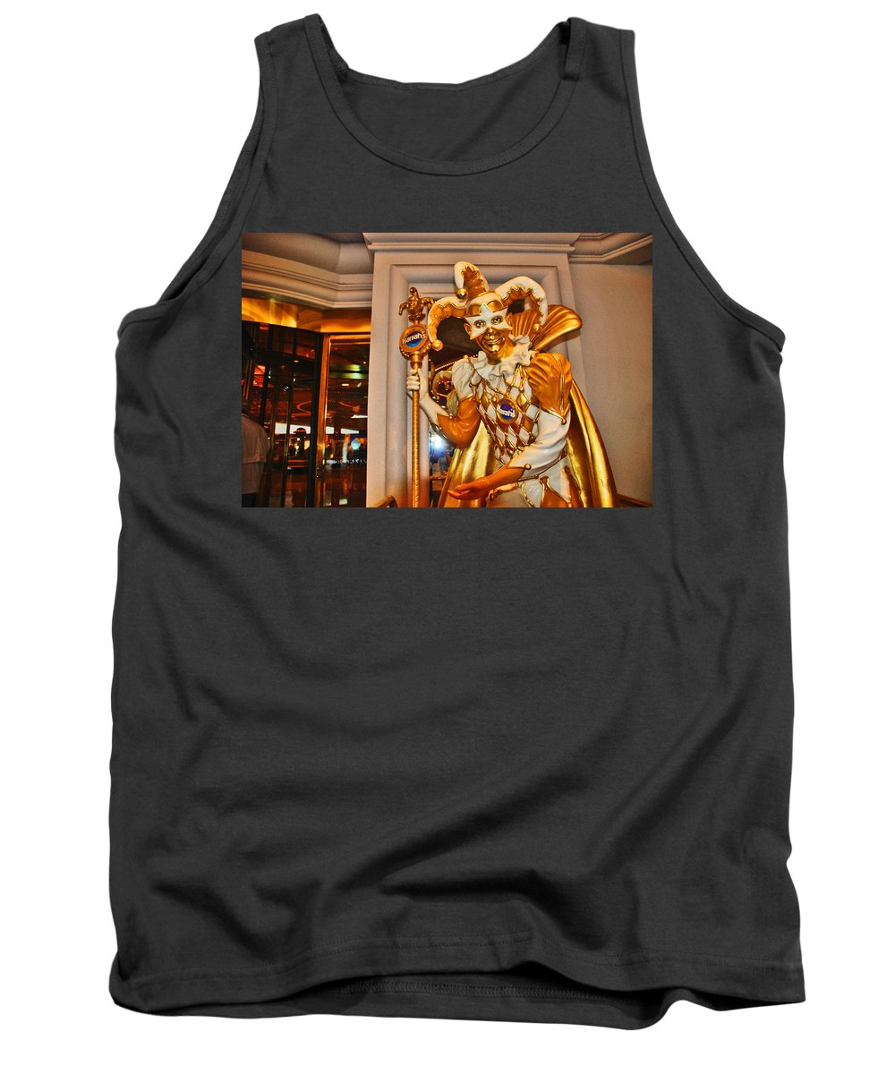 Photography Tank Top featuring the photograph The Fool by Susanne Van Hulst