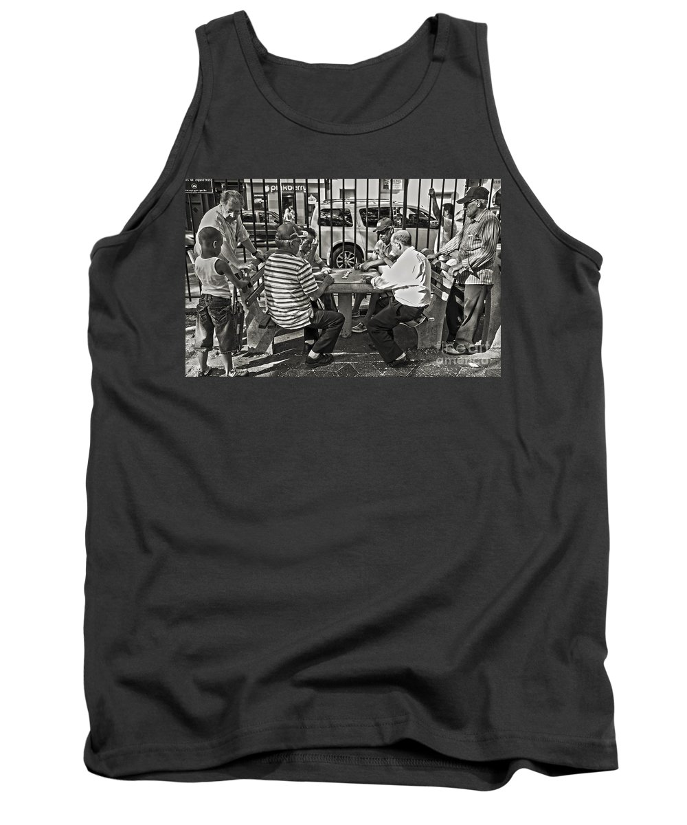 Game Tank Top featuring the photograph The Game by Madeline Ellis