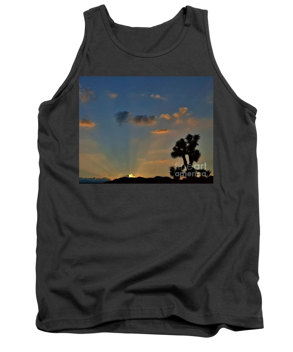 Gift Of A New Day Tank Top featuring the photograph The Gift Of A New Day by Angela J Wright